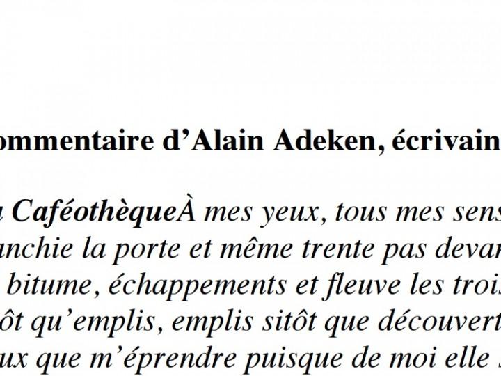 Alain Adeken – écrivain