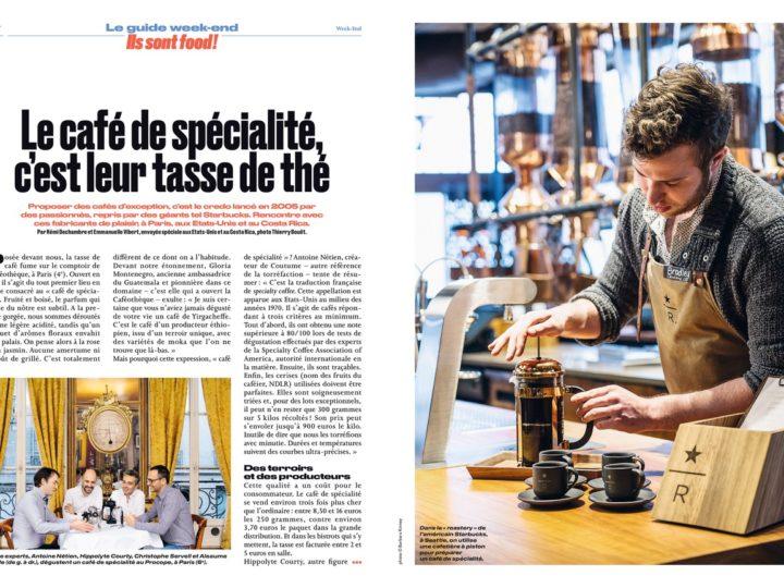 A la découverte des cafés de spécialité avec Le Parisien