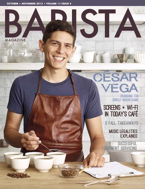 Interview de Gloria Montenegro dans Barista Magazine