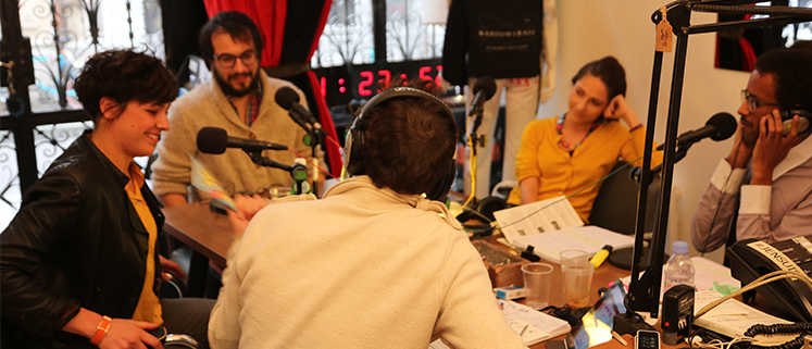 La Culture à La Caféothèque – sur Radio Marais